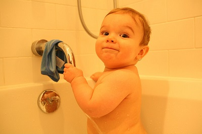 お風呂場革命!ボトルの底と、浴室の壁を絶対に汚さない方法。