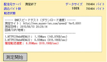 LTEネット速度