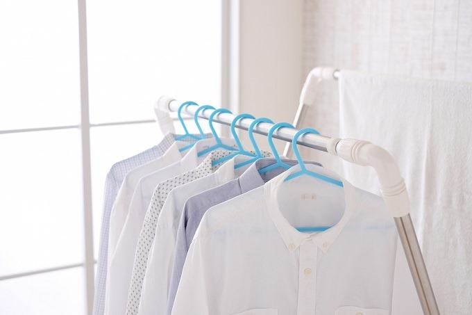 部屋干しはここまで進化した!雨の日も2回洗濯できちゃう秘密兵器。