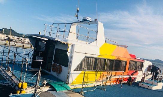 連絡船の写真