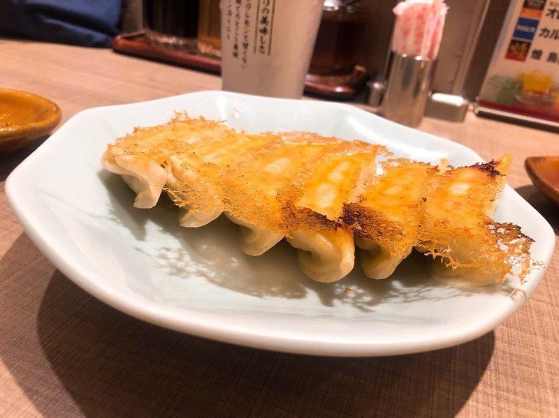 宇都宮みんみんの焼き餃子